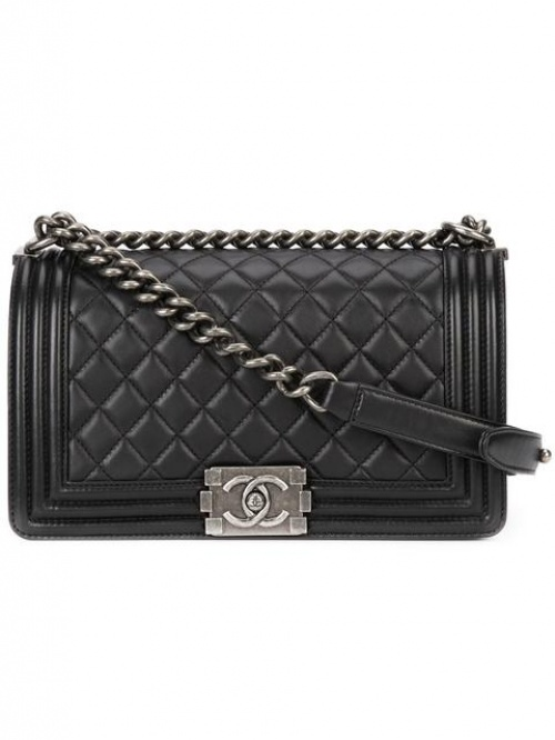 Chanel Vintage - sac Boy medium