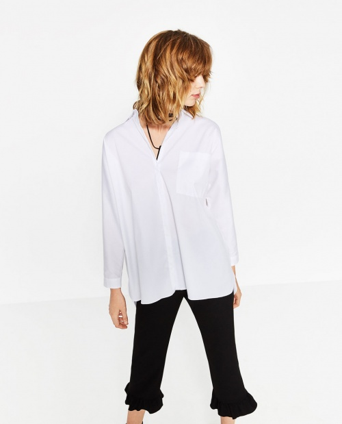 Zara - chemise blanche