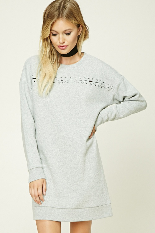 Forever 21 Robe sweatshirt grise