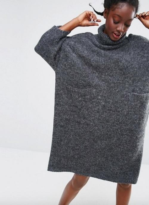 Monki robe oversize