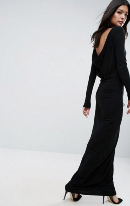Robe longue basique multi-occasion