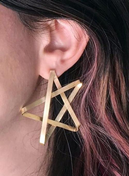 Rachel Pfeffer Designs - boucles étoiles handmade
