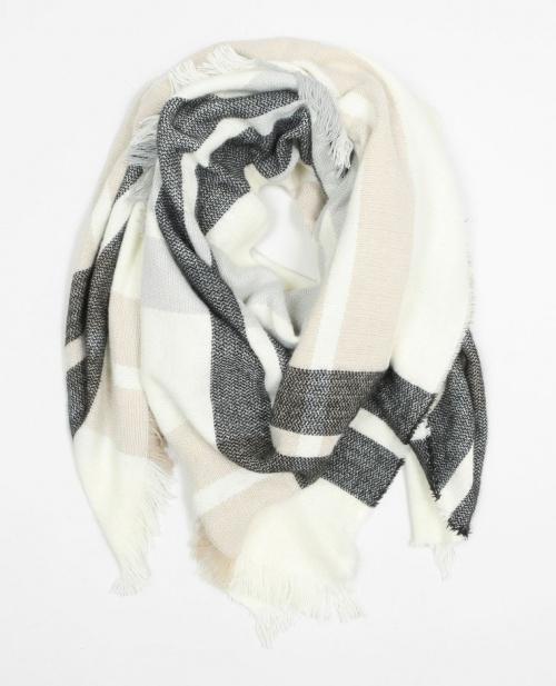 Pimkie - écharpe plaid à carreaux