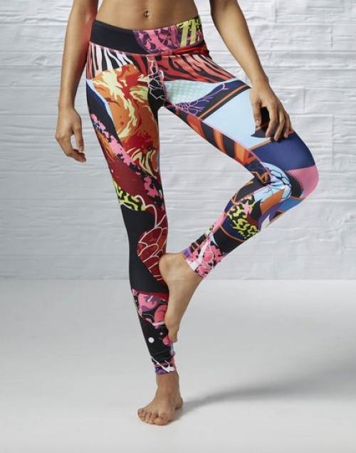 legging multicolore