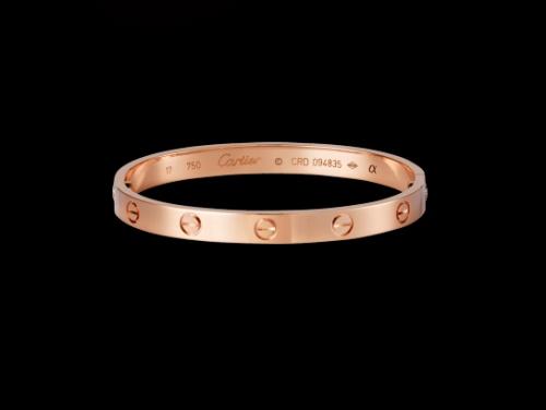 Bracelet Love en or rose