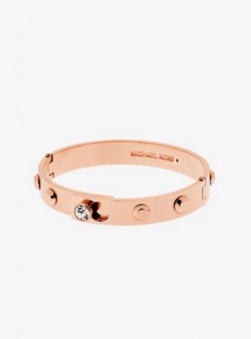 Bracelet rigide Astor ton or rose