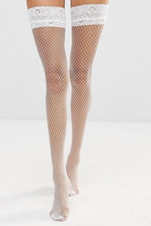 Ann Summers - bas blancs
