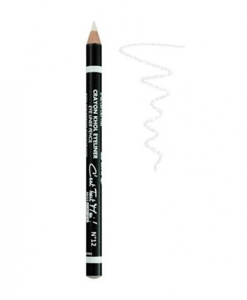 Miss Europe - crayon blanc
