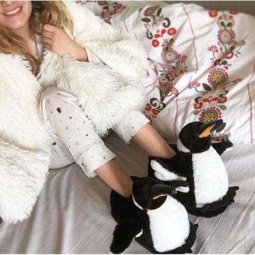 Sleeper'z - Chaussons Pingouin