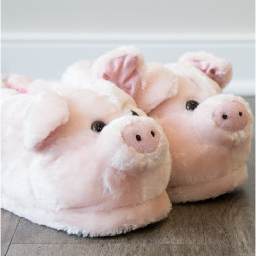 Sleeper'z - Chaussons Cochon