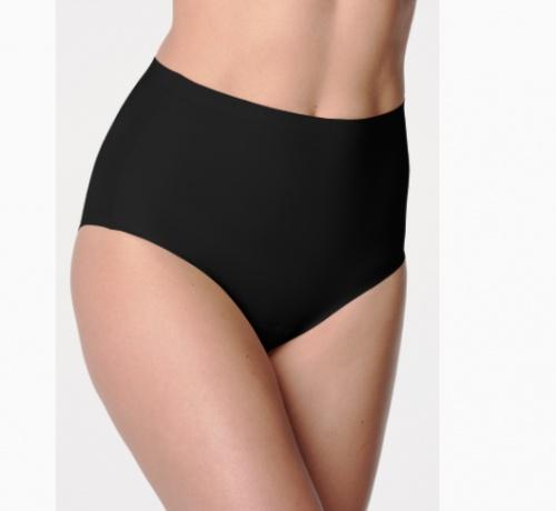 shorty taille haute noir