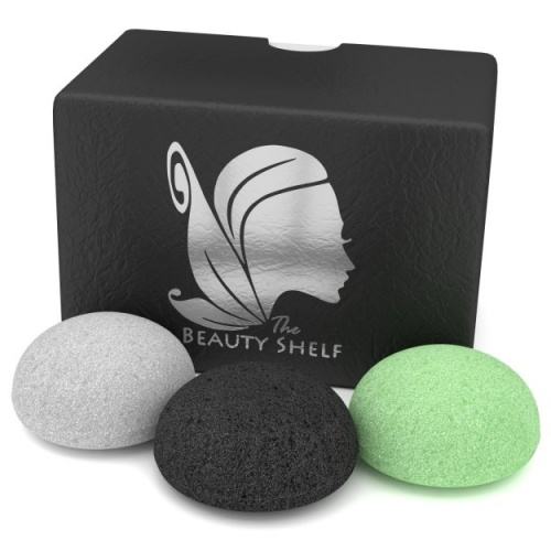 The Beauty Shelf - Éponges exfoliantes