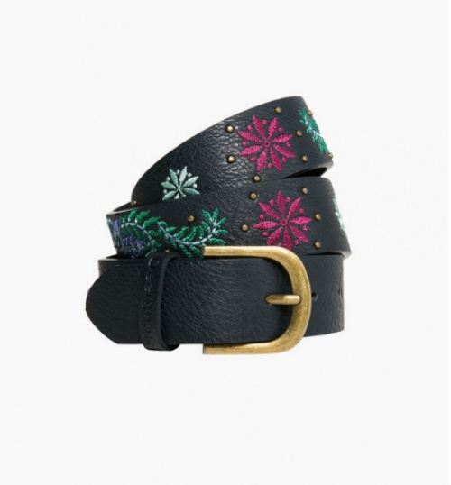 Ceinture effet cuir Embroidery