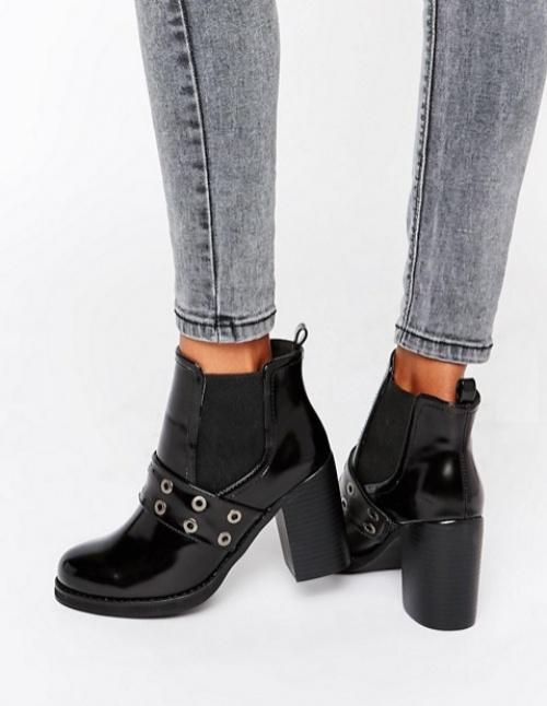 Park Lane boots noires