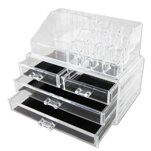 Boite à compartiments et tiroirs