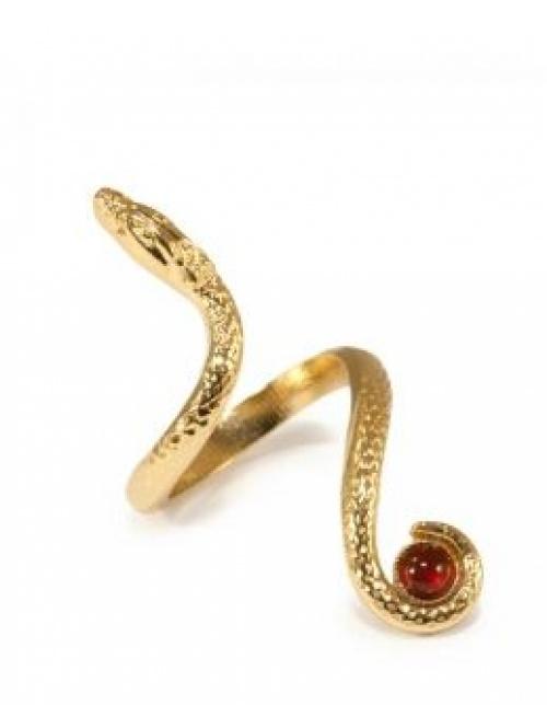Imaï - bague serpent or