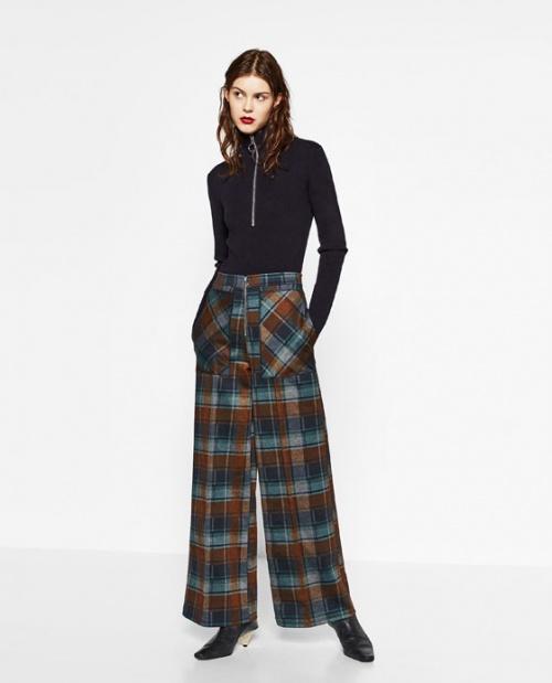 Zara  pantalon palazzo