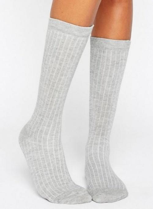 Asos - chaussettes côtelées