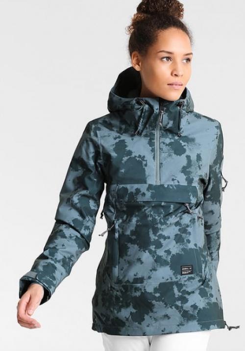 veste verte tachetée