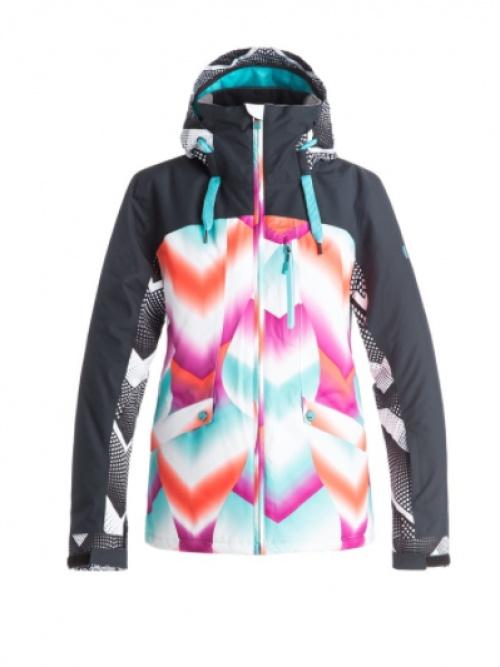 veste avec géométrie multicolore