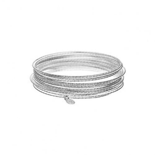 Set de 30 bracelets joncs New Basic en argent 925