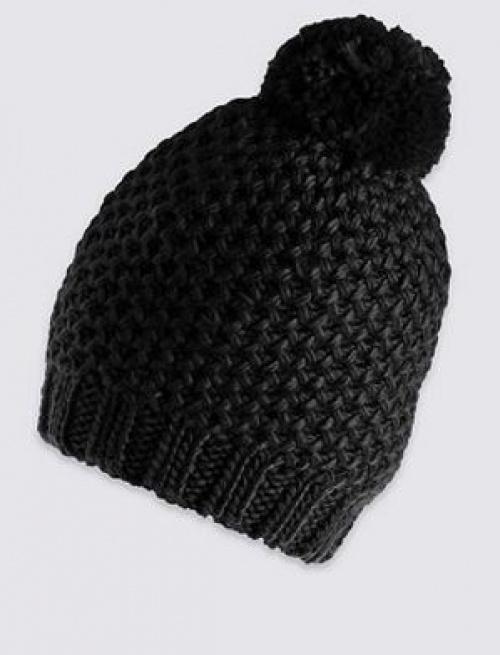 Marks & Spencer - bonnet pompon