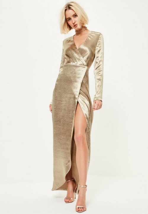 MissGuided - Robe - Or