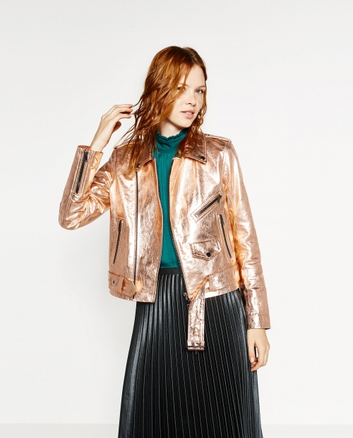 Zara - Perfecto - Or rose