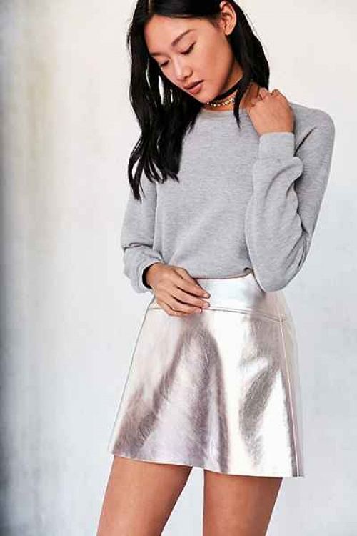 Urban Outfitters - Jupe - Rose gold