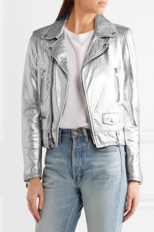 Saint Laurent - Perfecto - Argent