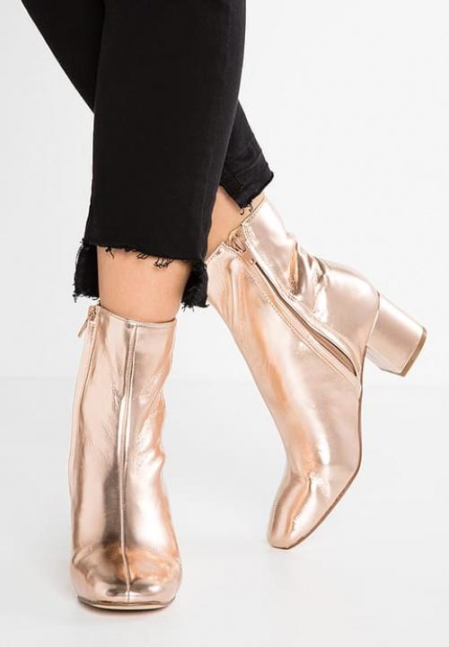 Zara - Boots - Rose gold