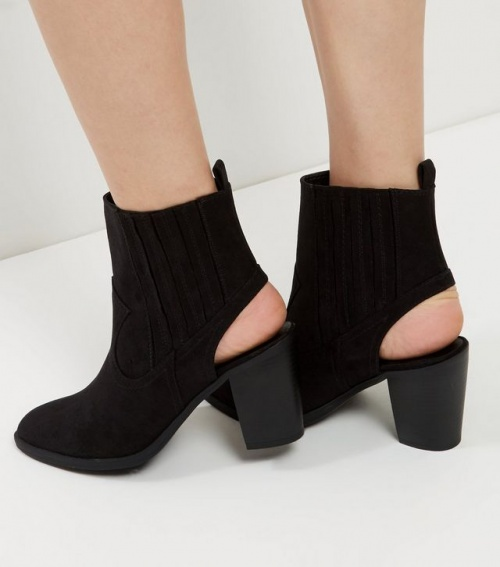 New Look  bottines ouvertes talons