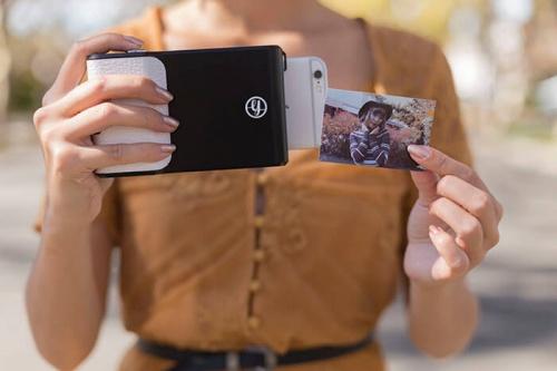 Coque de smartphone fonction imprimante