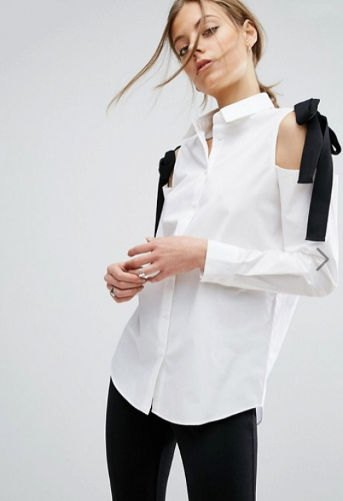 Asos chemise blanche