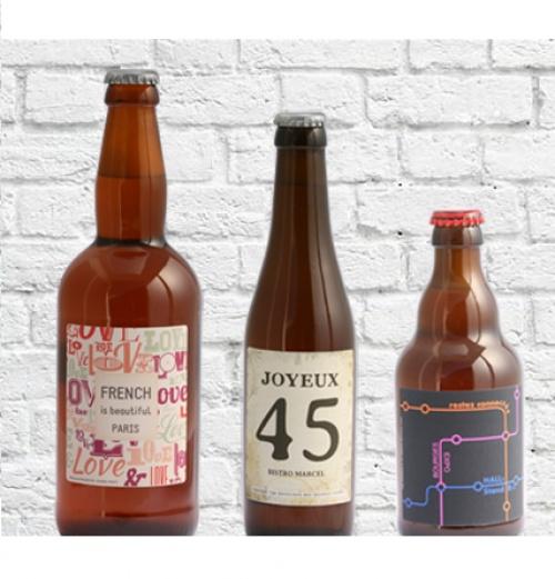 La bière personnalisée par Brasserie Bos