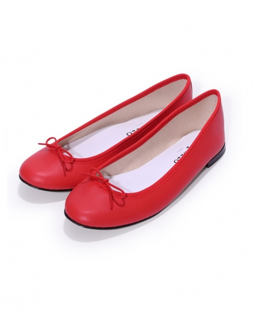 Repetto - ballerines Cendrillon rouges