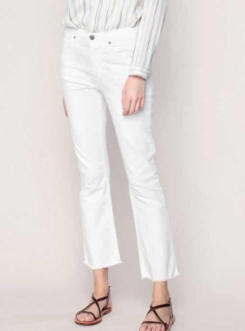 Acquaverde - jean blanc cropped