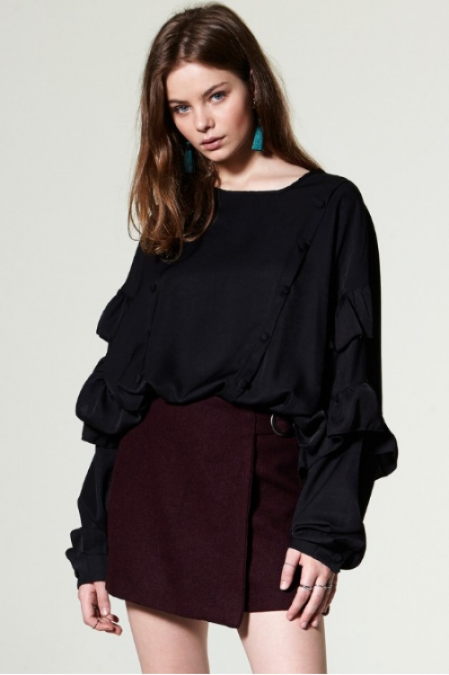 Aristi Wrap Skirt