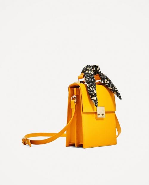 Zara - sac avec foulard