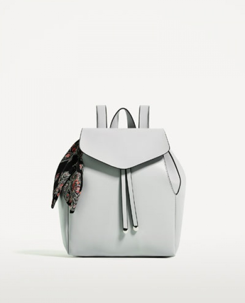 Zara - sac à dos avec foulard