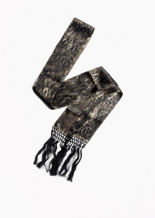 & Other Stories - foulard cravate à franges
