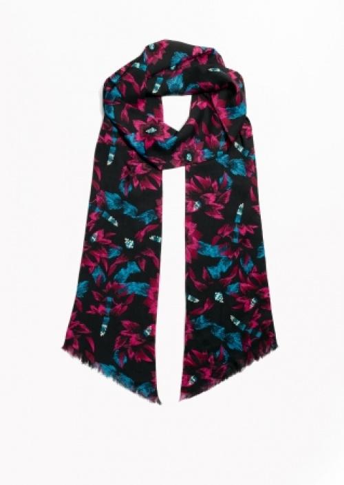 & Other Stories - foulard fleuri
