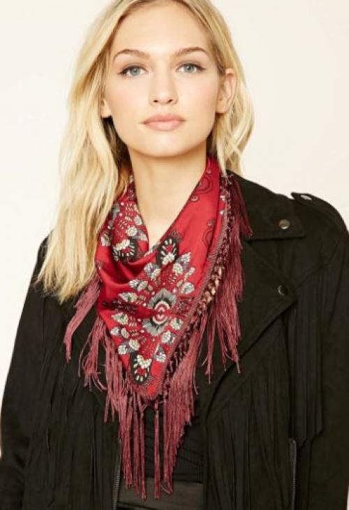 Forever 21 - foulard à franges