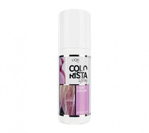 Colorista Spray - Pink Hair  spray une journée