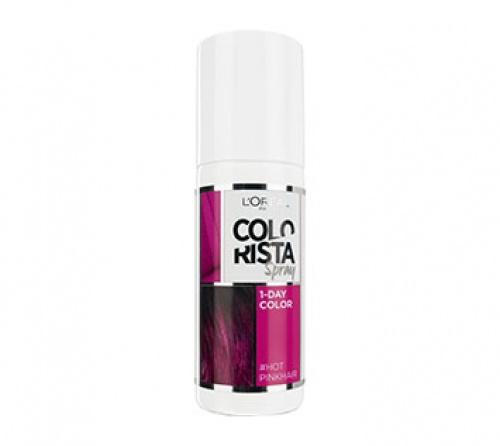 Colorista Spray - Hot Pink Hair  spray couleur une journée