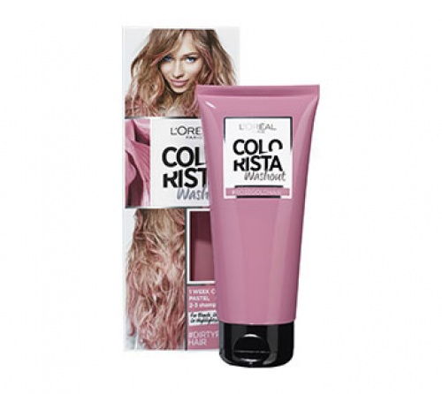Colorista Washout - Dirty Pink Hair  coloration semaine