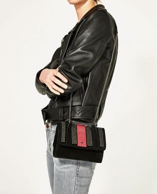 Zara - sac chaine clouté