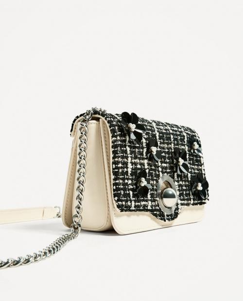 Zara - sac chaine rabat interchangeable