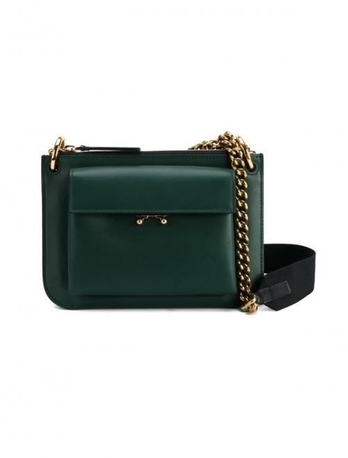 Marni - sac chaine vert