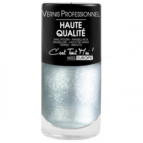 Miss Europe vernis ongles gris